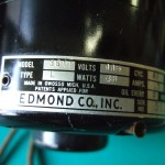REDMOND製の50W級ACモーター(ローターにはファン付き)