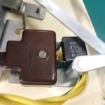修理後:電源スイッチとスパークキラー