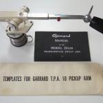 Garrard(ガラード)アーム TAP-10