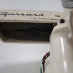 Garrard(ガラード)アーム このスプリングでバランスを取ります