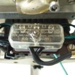 Garrard301 電源電圧切替パネル