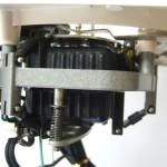 Garrard301 モーター、モーター製造会社によりOH済み。アイソレーションゴムも新品に交換