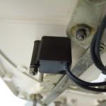 Garrard301 ノイズサプレッサーは現在のGarrard社が発売している部品に交換済み