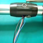 内部配線交換、水平軸のベアリングクリーニング、グリスアップ