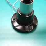 旧タイプの丸型ベース(真鍮製)