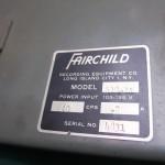 FAIRCHILD(フェアーチャイルド) 412-1A S:4831