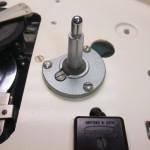 Garrard 301 (S:36466) ハンマートーン塗装仕上げのスピンドル