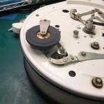 Garrard 4HF修理前 Garrard301用のアイドラーに交換されている(2)