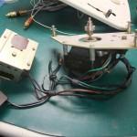 Garrard 4HF修理前 モーター部