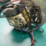 Garrard 4HF修理前 モーター