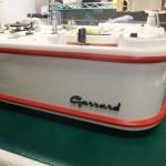 Garrard4HF修理後 Garrardエンブレム