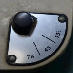 Garrard (ガラード) Model301 回転数切り替えレバー オーバーホール前