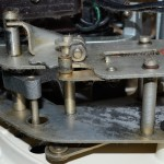 Garrard (ガラード) Model301 トランスミッション オーバーホール前