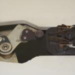 Garrard (ガラード) Model301 スイッチ周辺 オーバーホール前