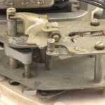 Garrard (ガラード) Model301 トランスミッション部 オーバーホール前