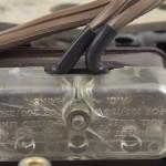 Garrard (ガラード) Model301 電源コード接続部 オーバーホール後