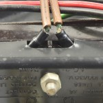 Garrard (ガラード) Model401 電源コード接続部 オーバーホール前