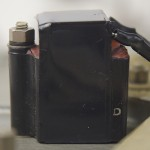 Garrard (ガラード) Model301 手抜き交換されたノイズサプレッサー